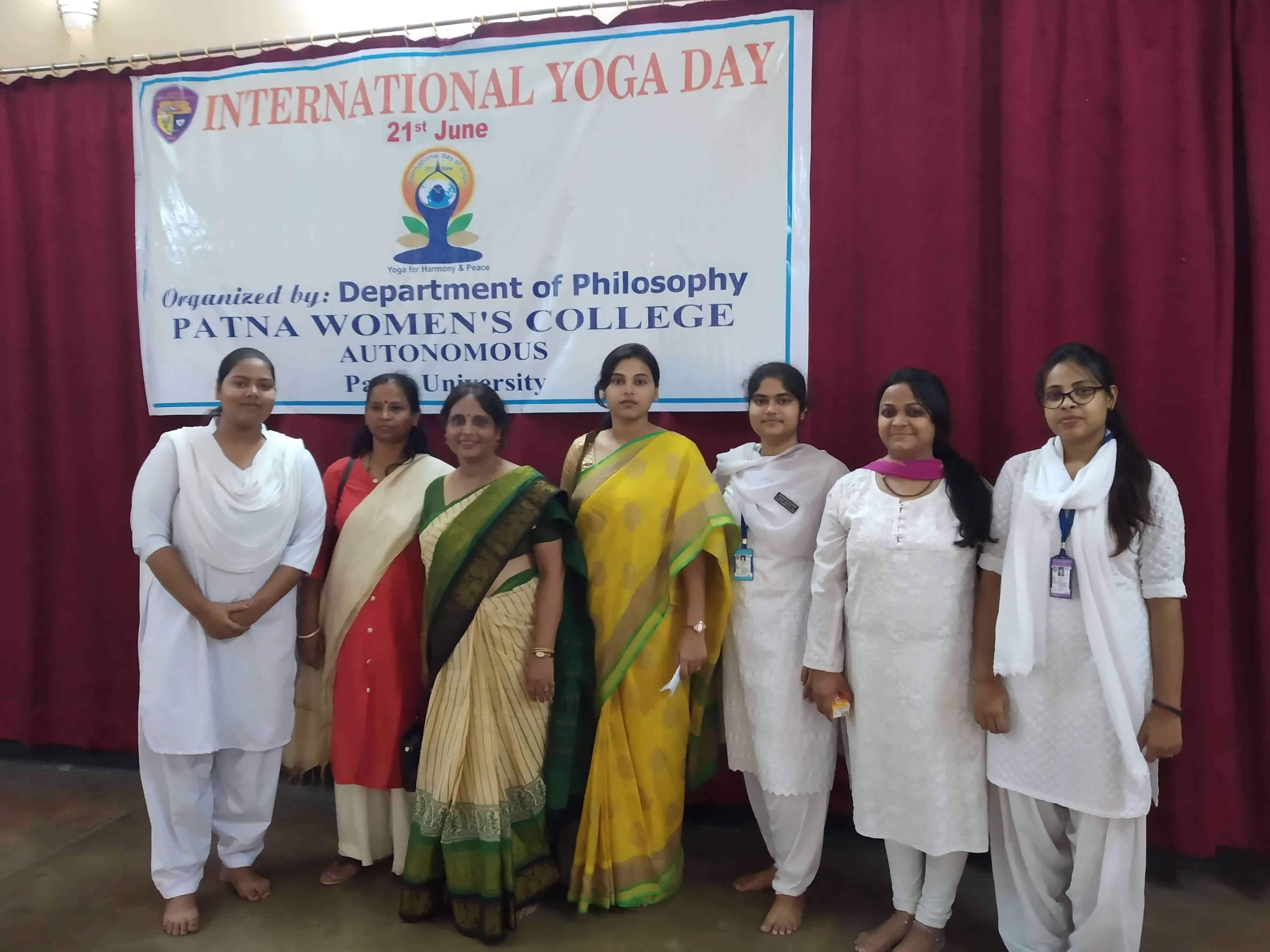 Top College in Patna | Yoga Day